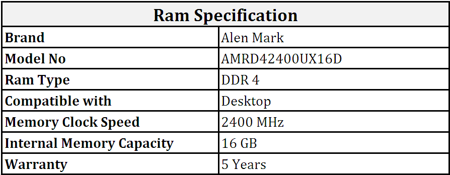 Alen_Mark_DDR4_16GB_2400_MHz_Desktop_Ram_(AMRD42400UX16D).PNG