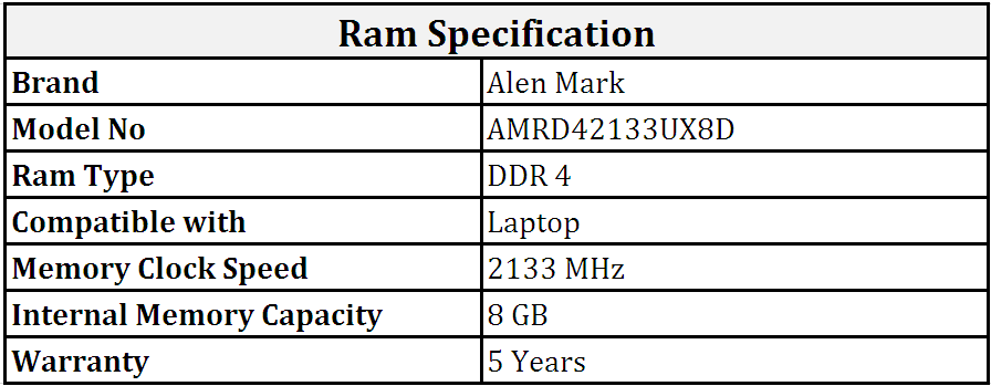 Alen_Mark_DDR4_8GB_2133_MHz_Laptop_Ram_(AMRD42133UX8D).PNG